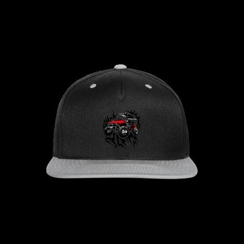 offroad utv side by side shirt - Snap-back Baseball Cap