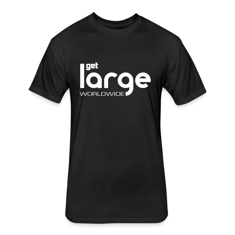 Men's T Shirt Modern Logo - Fitted Cotton/Poly T-Shirt by Next Level