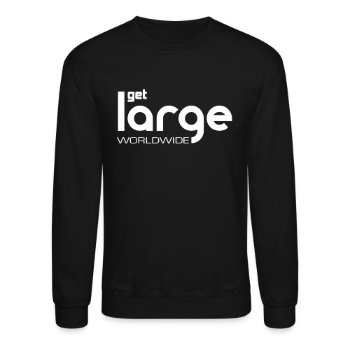 Men's T Shirt Modern Logo - Crewneck Sweatshirt