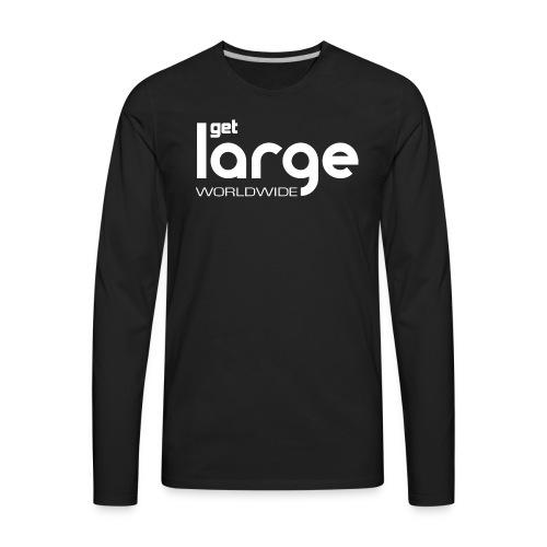 Men's T Shirt Modern Logo - Men's Premium Long Sleeve T-Shirt