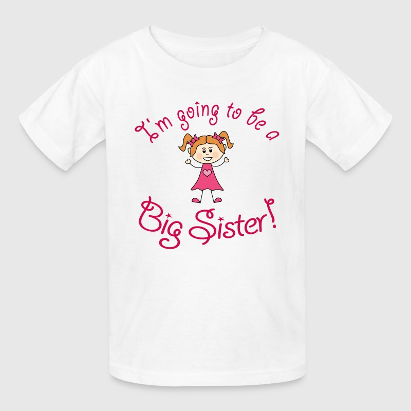 I'm going to be a Big Sister! - Kids' T-Shirt