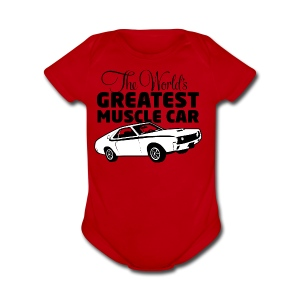 Greatest Muscle Car - Javelin - Short Sleeve Baby Bodysuit