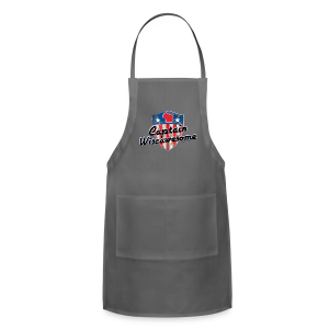 Captain Wiscawesome (Digital Print) - Adjustable Apron