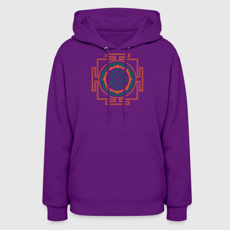 Shri Yantra - Cosmic Energy Conductor   Hoodies - Women's Hoodie