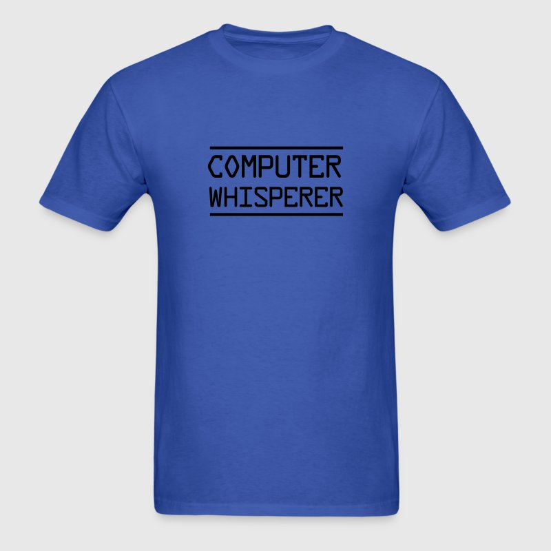 Computer Whisperer T-Shirts - Men's T-Shirt