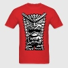 Grumpy Tiki Man T-Shirts - Men's T-Shirt