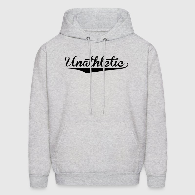 Unathletic Funny Sports Design Hoodies - Men's Hoodie