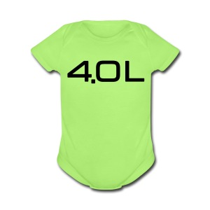 4.0 Litre - Short Sleeve Baby Bodysuit