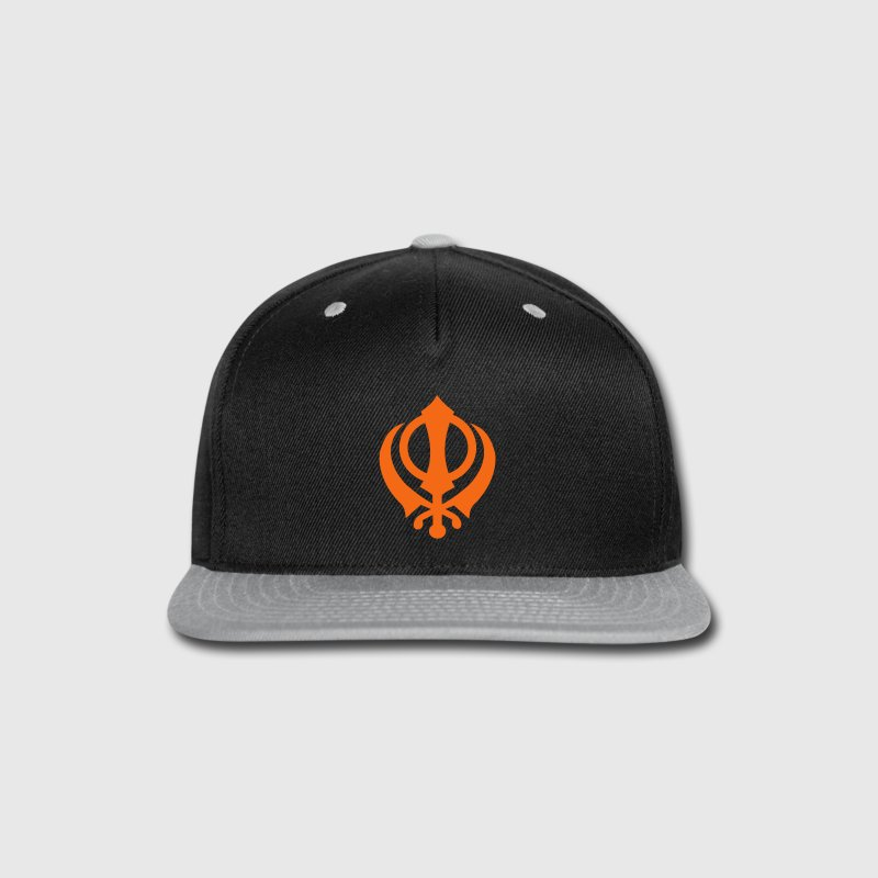 Khanda Caps - Snap-back Baseball Cap