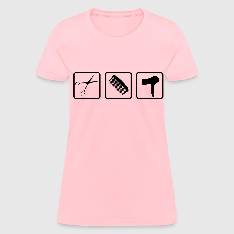 Hair dresser t shirt spreadshirt for Hair salon t shirt designs