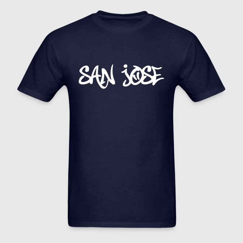 San Jose Graffiti T-Shirts - Men's T-Shirt