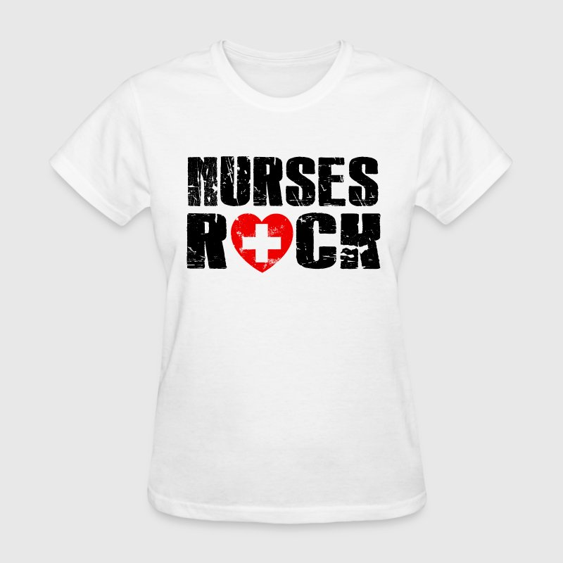 nurses rock - Women's T-Shirt