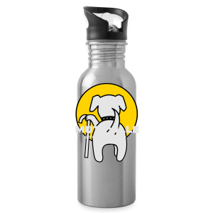 muttville umbrella - Water Bottle