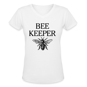 Beekeeper Kid's T-Shirt - Women's V-Neck T-Shirt