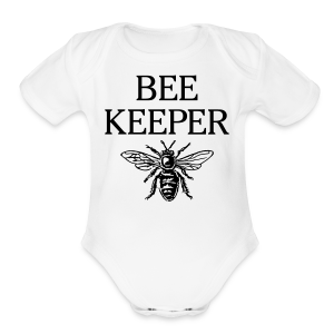 Beekeeper Kid's T-Shirt - Short Sleeve Baby Bodysuit