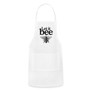 Let it bee t-shirt - Adjustable Apron