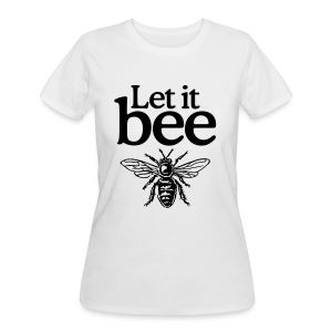 Let it bee t-shirt - Women's 50/50 T-Shirt