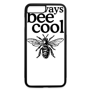 Always bee cool t-shirt - iPhone 7 Plus/8 Plus Rubber Case
