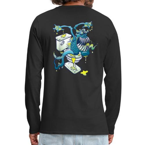 Toilet Monster - Men's Premium Long Sleeve T-Shirt