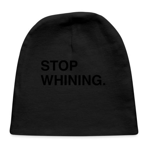 Stop Whining (Asphalt) - Baby Cap