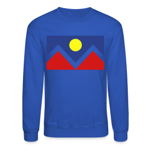 Denver Flag - Nugs - Mens - Crewneck Sweatshirt