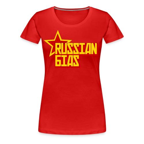 Russian Bias - Women's Premium T-Shirt