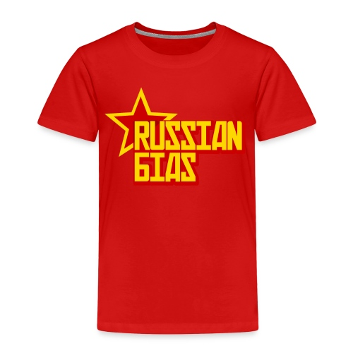 Russian Bias - Toddler Premium T-Shirt