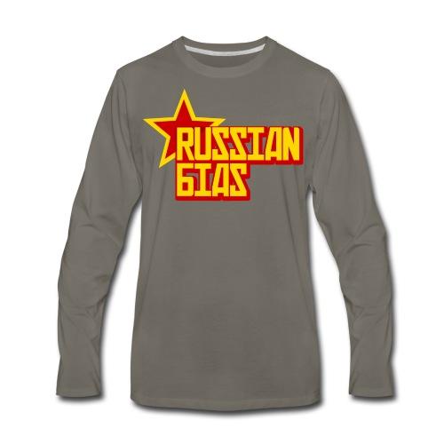 Russian Bias - Men's Premium Long Sleeve T-Shirt