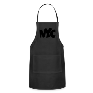NYC T-Shirt (Women/Black) - Adjustable Apron