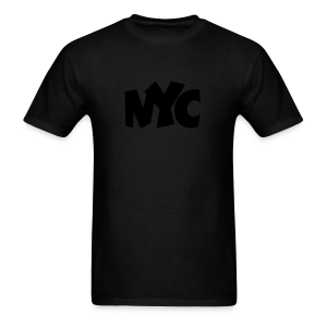 NYC T-Shirt (Women/Black) - Men's T-Shirt