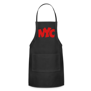 NYC T-Shirt (Women/Red) - Adjustable Apron