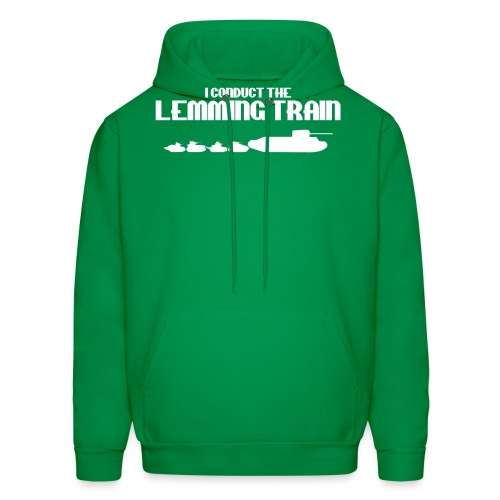Lemming Train - Men's Hoodie
