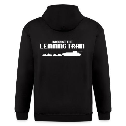 Lemming Train - Men's Zip Hoodie