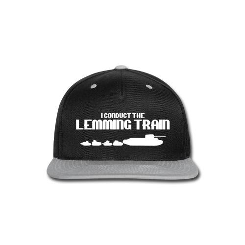 Lemming Train - Snap-back Baseball Cap