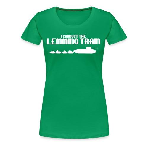 Lemming Train - Women's Premium T-Shirt