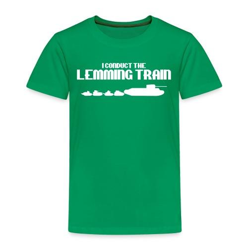 Lemming Train - Toddler Premium T-Shirt