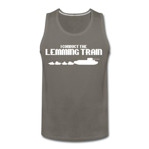 Lemming Train - Men's Premium Tank