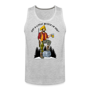 Capt'n Nort'woods (Digital Print) - Men's Premium Tank