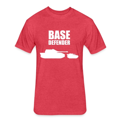 Base Defender (Women) - Fitted Cotton/Poly T-Shirt by Next Level