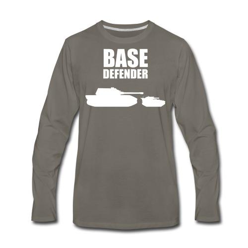 Base Defender (Women) - Men's Premium Long Sleeve T-Shirt