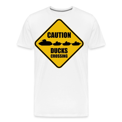 Ducks Crossing - Men's Premium T-Shirt