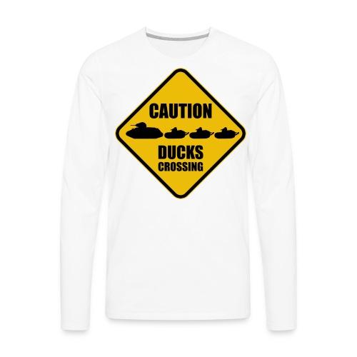 Ducks Crossing - Men's Premium Long Sleeve T-Shirt