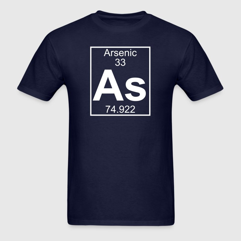 Element 033 - As (arsenic) - Full T-Shirts - Men's T-Shirt