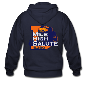 Mile High Salute - Mens - Men's Zip Hoodie