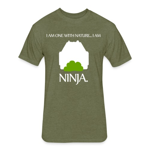 Ninja - Fitted Cotton/Poly T-Shirt by Next Level