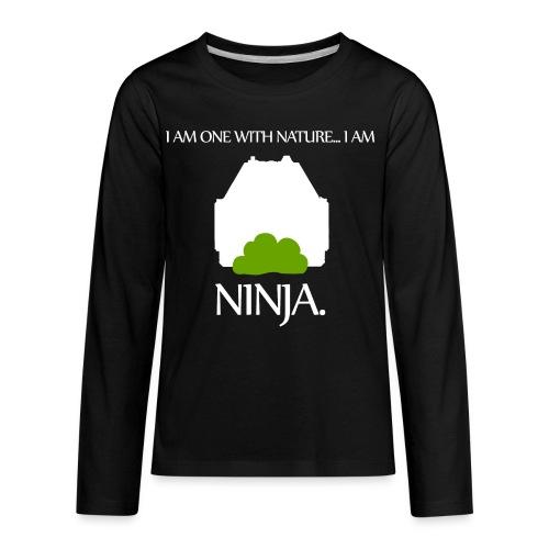 Ninja - Kids' Premium Long Sleeve T-Shirt
