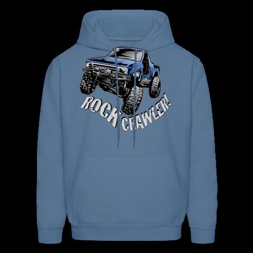Cool Blue Rock Crawling Truck - Men's Hoodie