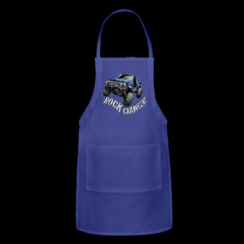 Cool Blue Rock Crawling Truck - Adjustable Apron