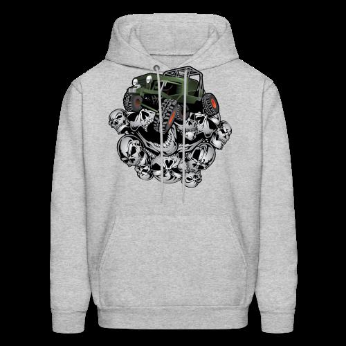 Grim Jeep - Men's Hoodie