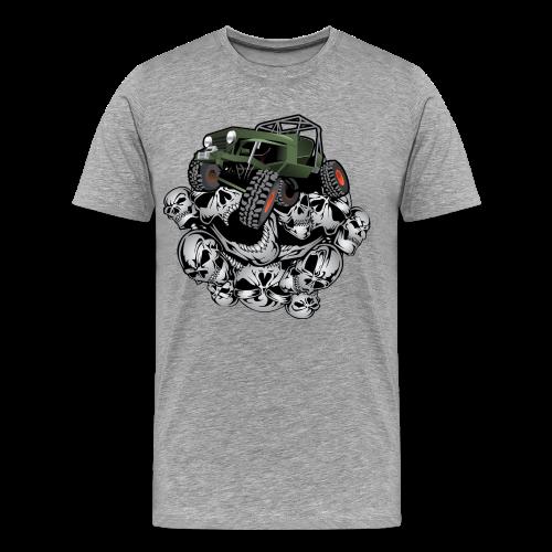 Grim Jeep - Men's Premium T-Shirt